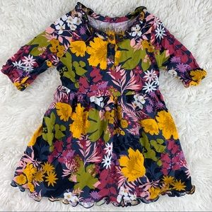 3/$20 Genuine Kids by OshKosh Floral Shirt Dress